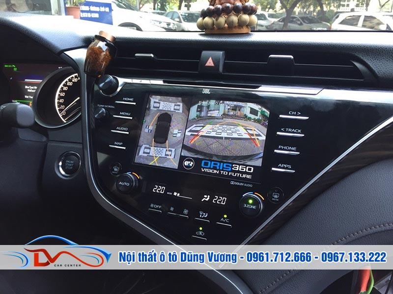 Camera 360 ô tô giúp người lái xe quan sát toàn cảnh ô tô
