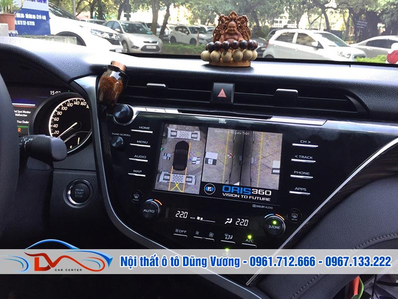 Camera 360 ô tô có thể đảm nhiệm vai trò như một chiếc camera an ninh