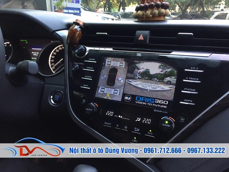 Camera 360 Oris lắp trên Ô tô Camry 2019 có kiểu dáng hiện đại