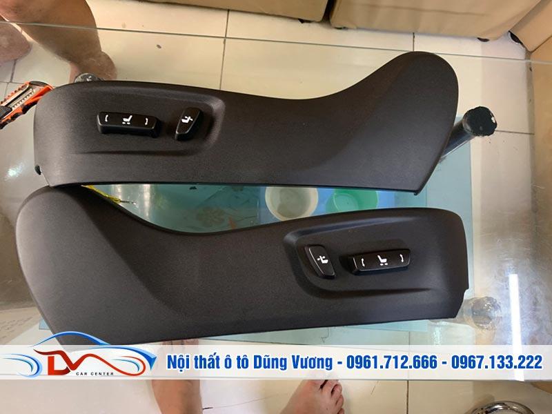 Ghế điện Ô tô Nissan Navara được trang bị nhiều tính năng