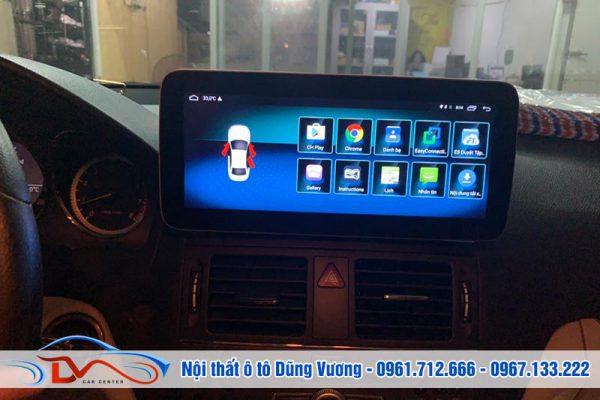 Màn hình Android xe Mercedes C250 2011