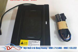 Sạc điện thoại không dây lắp trên xe KIA Sorento 2018-2019