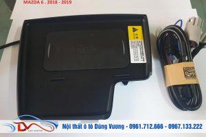 Sạc điện thoại không dây lắp trên xe Mazda 6 2018-2019