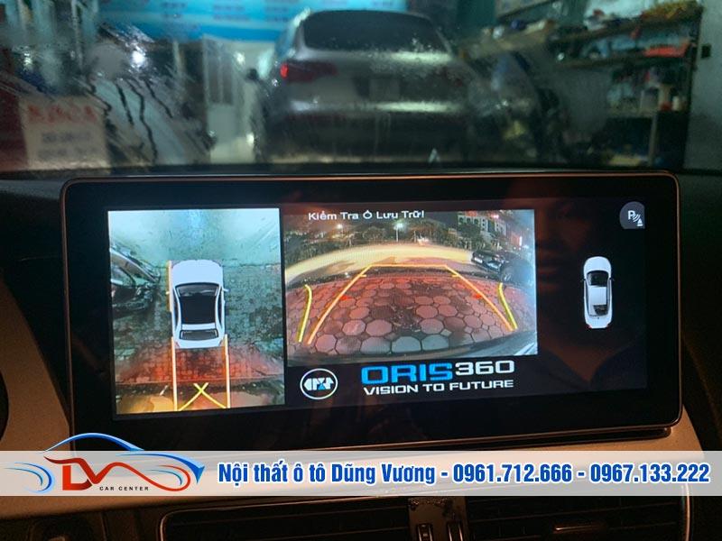 Camera 360 ô tô có thể sử dụng để thực hiện các tính năng khác