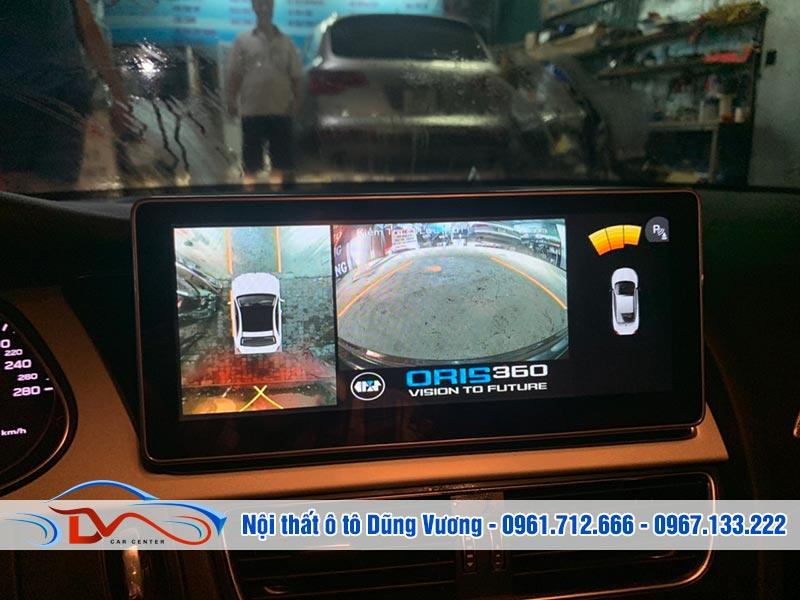 Camera 360 độ Oris lắp trên xe Audi A4