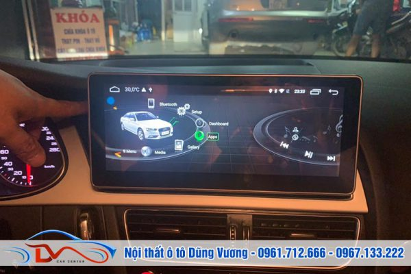 Màn hình Android xe Audi A4 2015