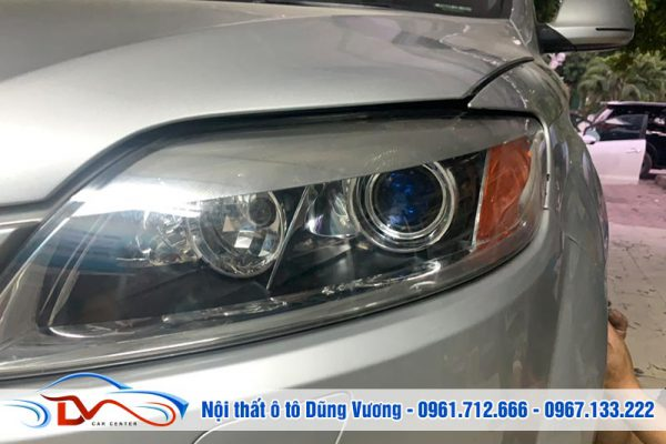 Nâng cấp tăng sáng đèn xe Audi Q7