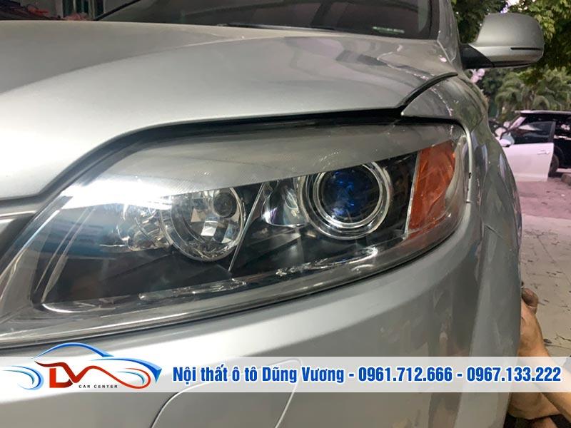 Nâng cấp tăng sáng đèn xe Audi Q7 được nhiều chủ xe quan tâm