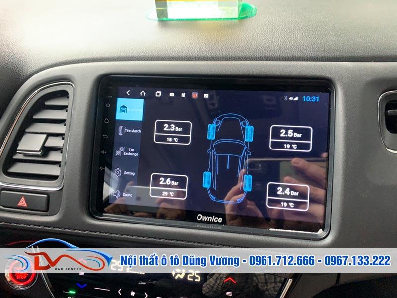 Màn hình có thể kết nối với camera 360 của xe