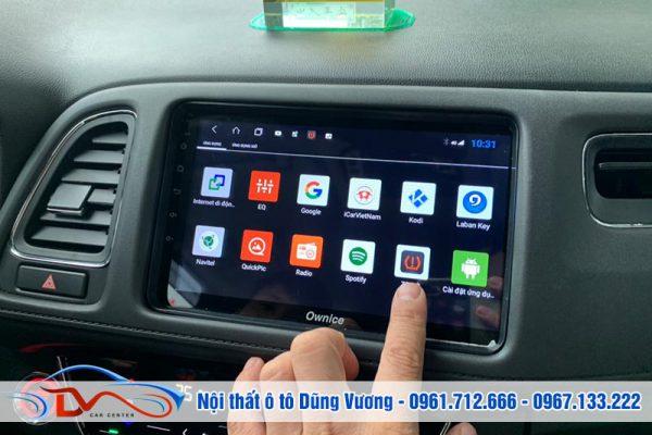 Màn hình Android thông minh cho xe Honda Hrv 2019