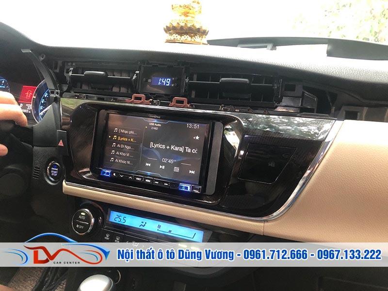 Màn hình Pioneer 9250BT Corolla Altis 2015-2018 có chất lượng âm thanh tuyệt vời