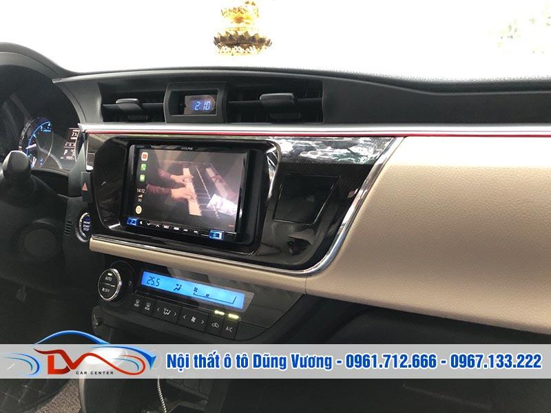 Màn hình Pioneer 9250BT Corolla Altis 2015-2018 được nhiều người lựa chọn
