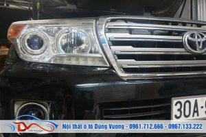 Độ đèn tăng sáng 300% cho Land Cruiser 2014