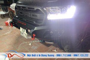 Nâng cấp đèn bi ô tô xe Ford Ranger Raptor 2019