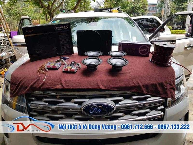 Nâng cấp âm thanh xe hơi chuyên nghiệp