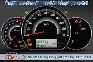 Ý nghĩa các đèn cảnh báo trên Taplo xe hơi