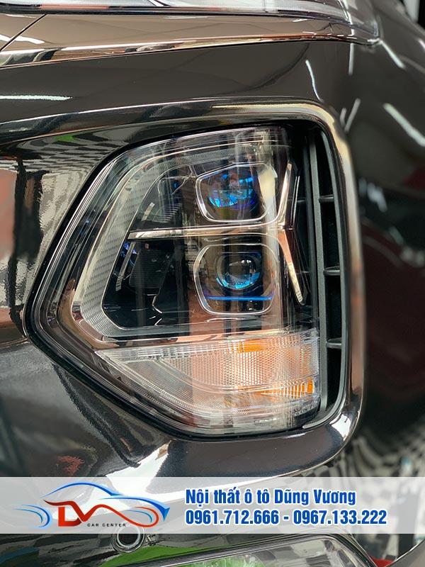 Độ Đèn HenWei xe Santafe 2020
