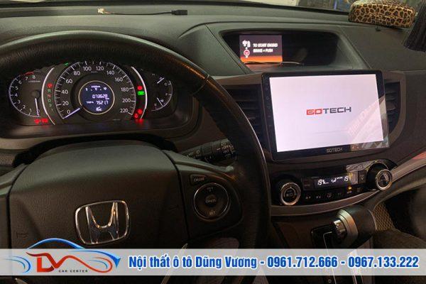 Màn hình Android Gotech xe Honda Crv 2016