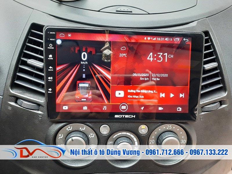Màn hình Android Gotech xe Mitsubishi Grandis