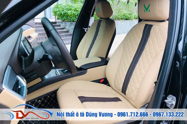 Nội thất cao cấp xe Vinfast LuxA