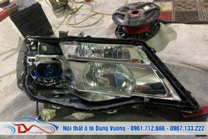 Độ đèn tăng sáng KiA Morning Van 2015