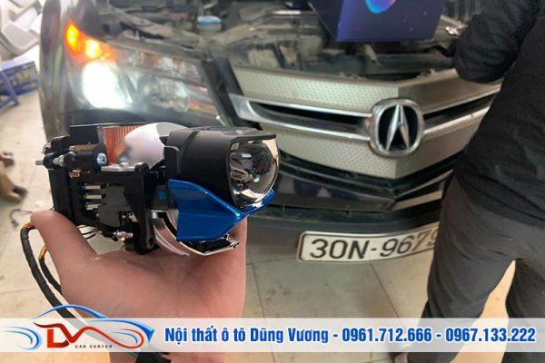 Độ đèn tăng sáng Acura MDX