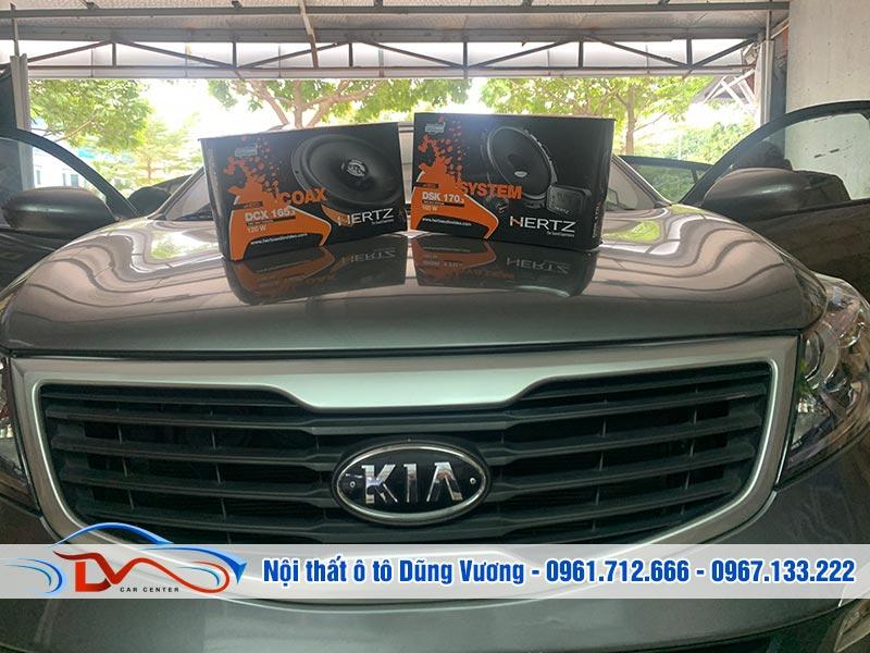 Độ loa Hertz xe KiA Sportage