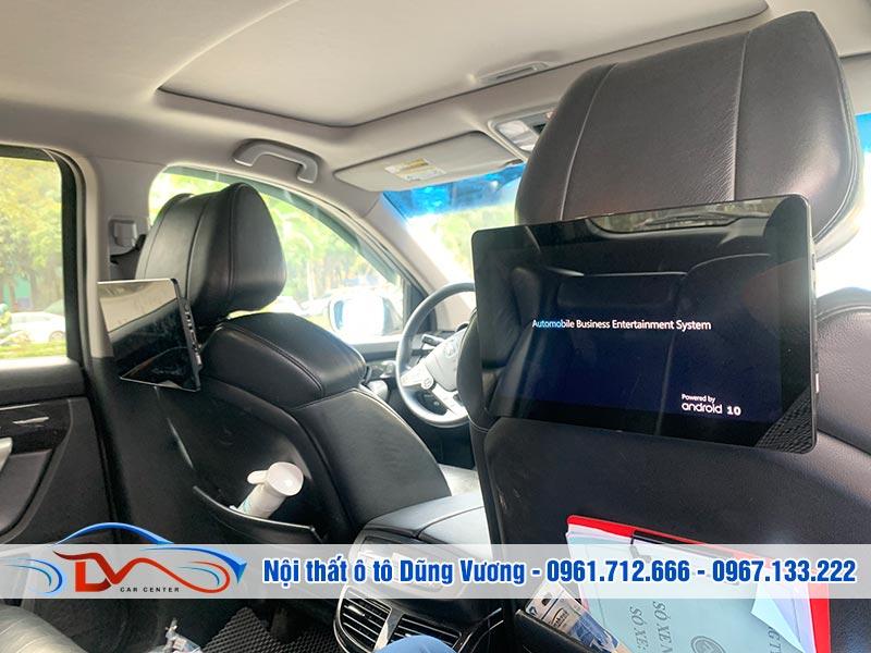 Màn hình Android gối đầu xe Acura MDX