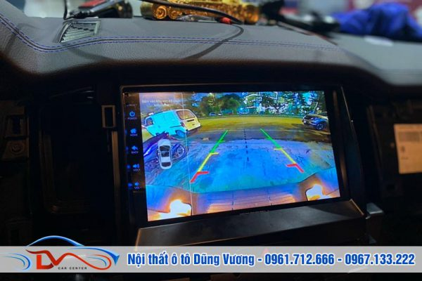 Màn hình Android Gotech Ford Ranger Raptor