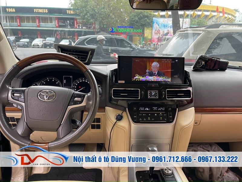 Màn hình Android Toyota Land Cruiser V8 2015-2020 nâng cấp từ Lx 570