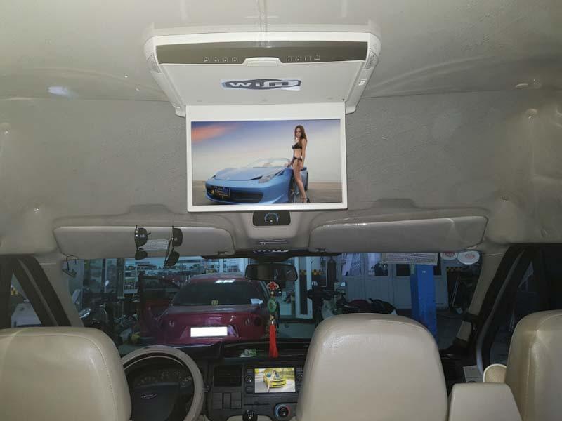 Lắp màn hình Ô tô phù hợp với mục đích sử dụng