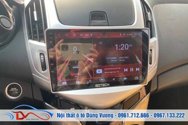 Màn hình Android Gotech Chevrolet Cruze