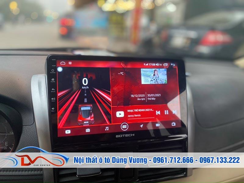Màn hình Android Gotech Toyota Vios