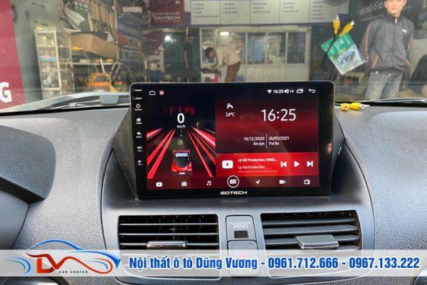 Màn hình Android Gotech xe Acura MDX