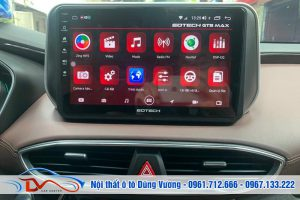 Màn hình Android Hyundai Santafe 2019-2021