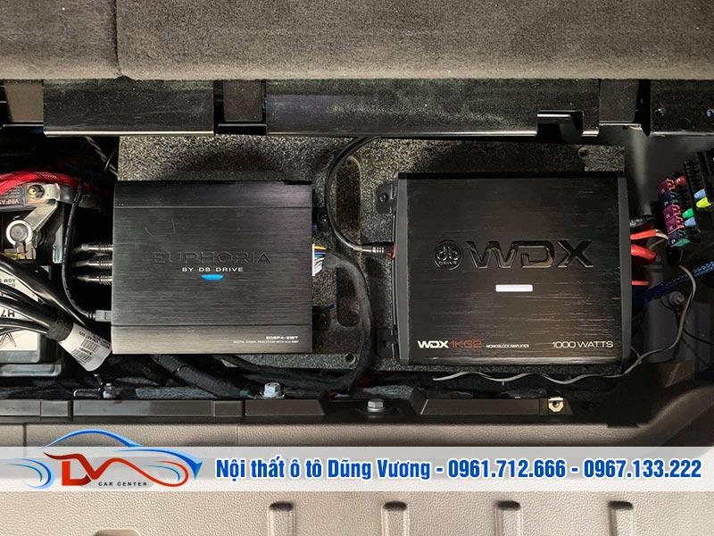 Nâng cấp Âm thanh Vinfast Lux SA 2021