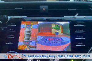 Camera 360 theo xe Camry 2020