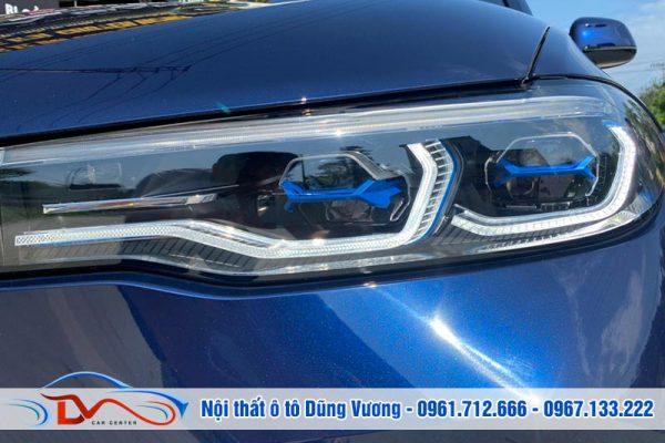 Độ Đèn Bi Laser Henvvei L92 Pro BMW X7