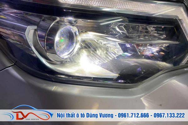 Độ đèn tăng sáng Nissan Terra 2021