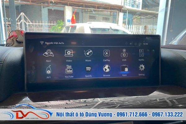 Lexus LX 570 2021 nâng cấp Màn hình Android