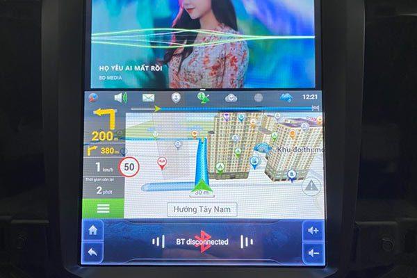 Màn hình Android Tesla Cruze - Lacetti CDX
