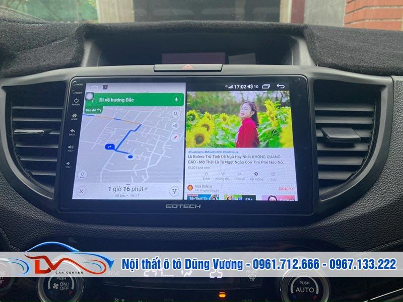 Màn hình Android Honda Crv 2017