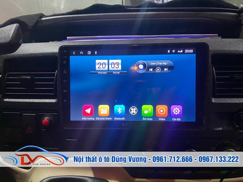 Màn hình Android xe Ford Transit