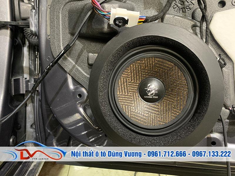 Nâng cấp âm thanh xe Vinfast Lux A