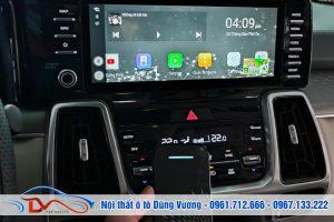 Kia Sorento 2021 nâng cấp Cửa hit - Camera Hành trình - Box Android - Màn hình gối đầu