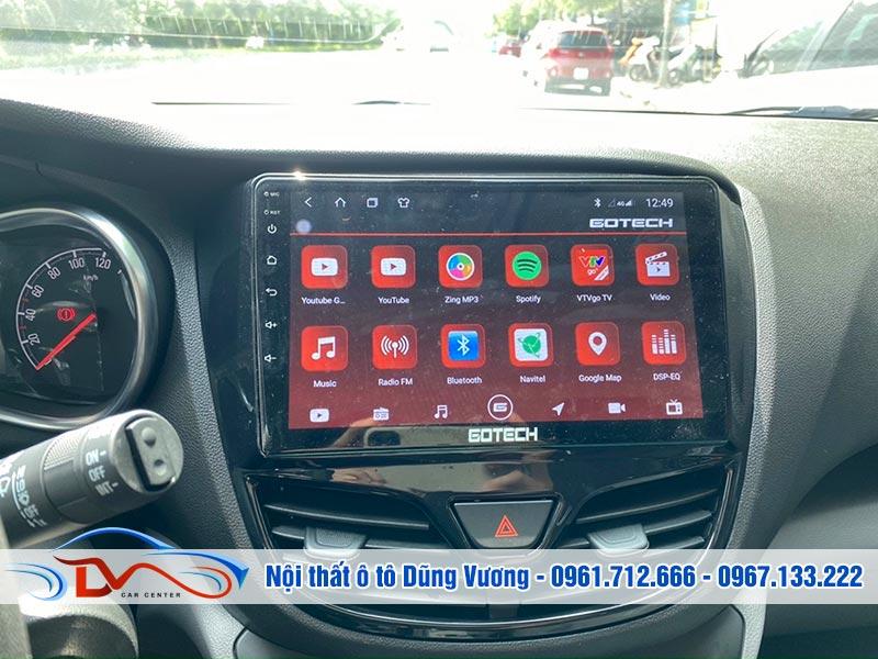 Màn hình Android Gotech lắp trên xe Vinfast Fadil