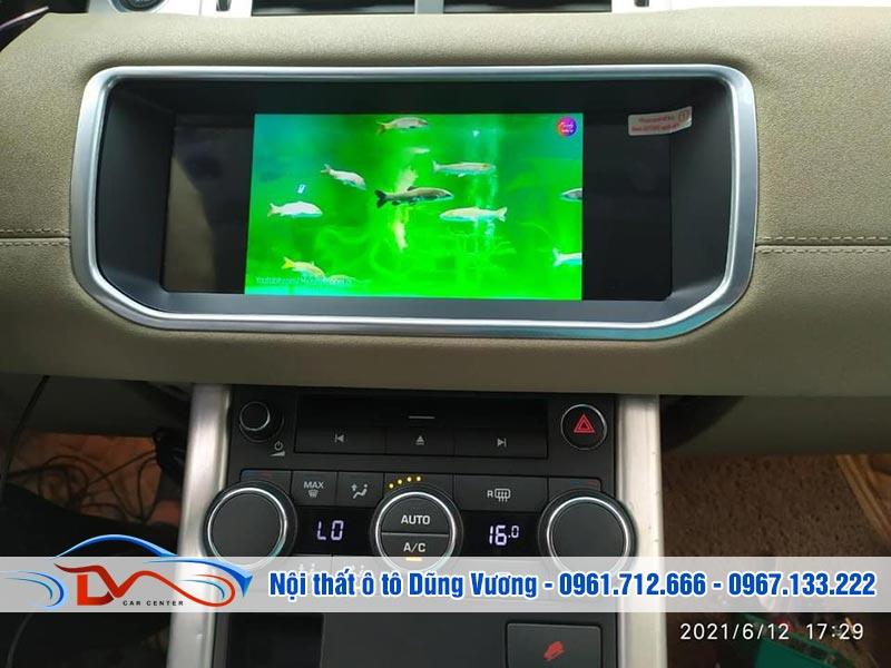 Màn hình Android LandRover Range Rover Evoque 2015
