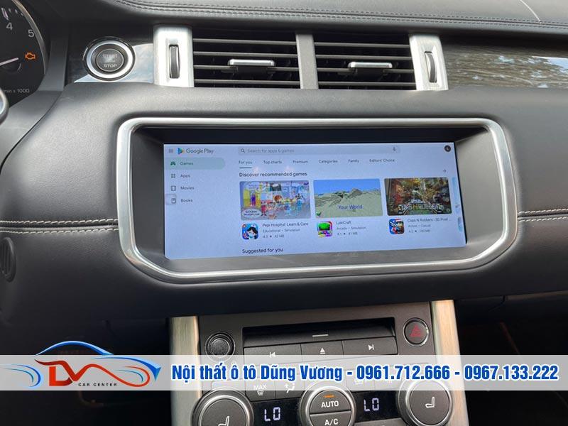 Màn hình Android Range Rover Evoque