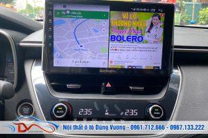 Màn hình Android Gotech Toyota Corolla Cross 2021