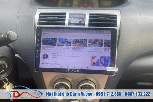 Vios 2008 Nâng cấp màn hình Android và Loa Sub